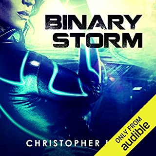Binary Storm audiobook cover art