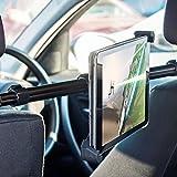 Rücksitz Halter Tablet / Tablet Halterung Auto - Olixar Universal - KFZ Kopfstütze iPad Kopfstützen Halterung 360° Grad Einstellbare rotierende Autositz-Kopfstützenhalterung für Tablets - Schwarz