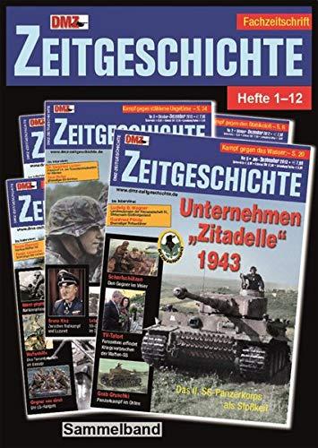 """DMZ-Zeitgeschichte Heft 1-12 Sammelband: Militärhistorische Fachzeitschrift \""""DMZ-Zeitgeschichte\"""" Heft 1-12 Sammelband"""