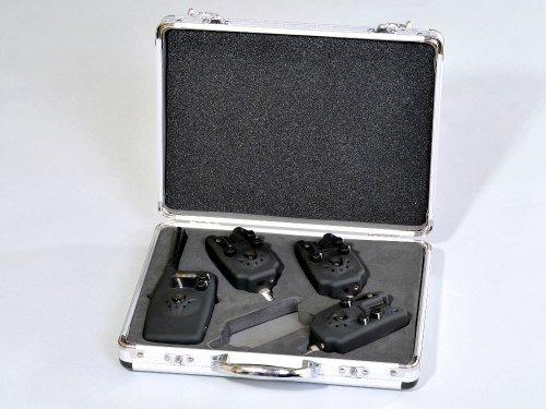 MK-Angelsport Digital Funk Bissanzeiger Set 3 + 1 Ampelfarben Set