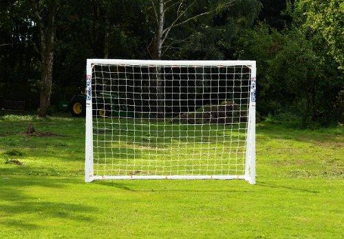 FORZA Fußballtore – die komplette Reihe – Tore mit einem Sperrsystem, Match Tore und Steel42 Tore (2,4m x 1,8m Tor mit Sperrsystem)