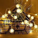 Zhi Zhi Cadena de luces LED 20LED 50LED 2m 5m llevaron luces de bombillas de...