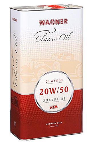 WAGNER Classic Motorenöl SAE 20W/50 unlegiert - 460005-5 Liter