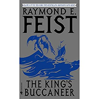 The King's Buccaneer     Riftwar Cycle: Krondor's Sons, Book 2              Auteur(s):                                                                                                                                 Raymond E. Feist                               Narrateur(s):                                                                                                                                 Peter Joyce                      Durée: 22 h et 57 min     12 évaluations     Au global 4,7