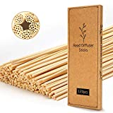 T&C 120PCS Reed Diffuser Sticks,10 Inch Natural Rattan Wood Sticks,Diffuser Refills,Essent...