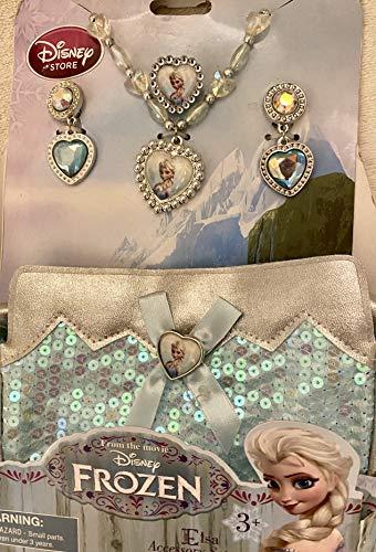 Dis El juego de accesorios de disfraz de Elsa de ney Store...