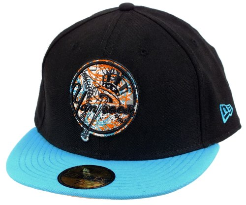 New Era New York Yankees Basecap Stokes Black / Vice / Orange Pop - 7 1/4 - 58cm