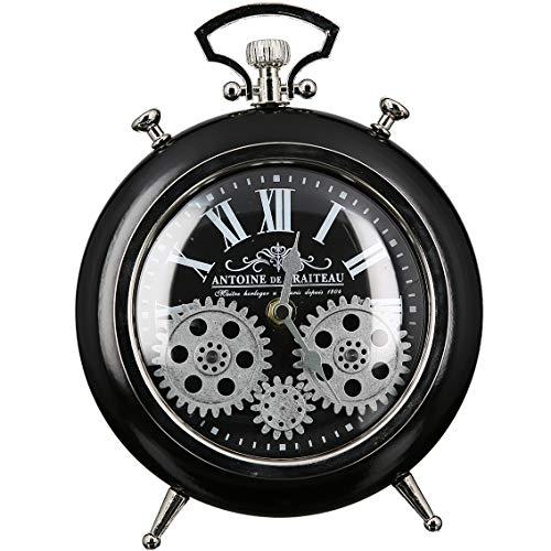 Casablanca - Uhr, Wecker - Transmission - Metall - schwarz/Silber - Höhe 25 cm
