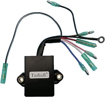 Tuzliufi Replace CDI Box Yamaha Outboard 30HP 40HP 30 40 HP 2 Stroke Engine 6F5-85540-21-00 6F5-85540-22-00 1996 1997 1998 1999 2000 New Z232