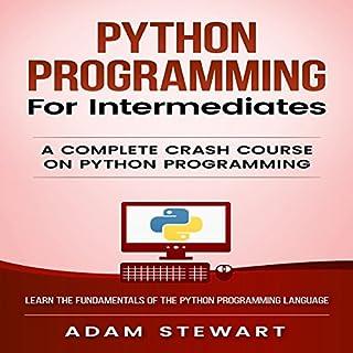 Python: Python Programming for Intermediates audiobook cover art