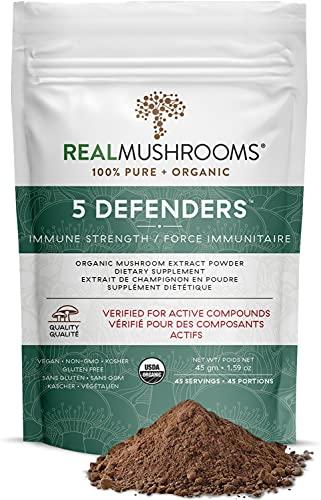 REAL Mushrooms 5 Defenders Powder