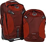 Osprey Meridian Wheeled Luggage (Spring 2016 Model) (22-Inch/60 Liter, Rusted Red)