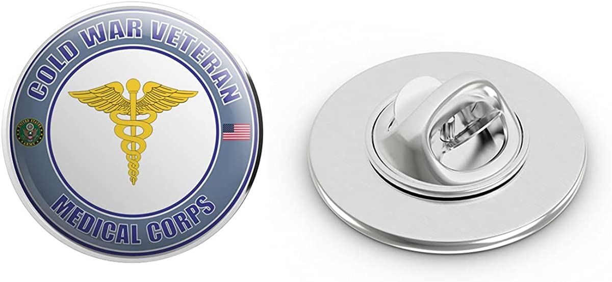 U.S. Army Cold War Medical Corps Veteran Metal 0.75