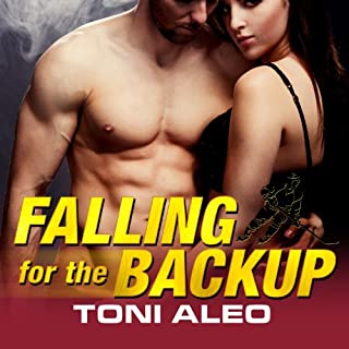 Falling for the Backup audiobook cover art