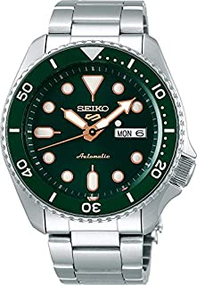Seiko 5 FACELIFT, 10 Bar water resistant, Calendar, Green dial Men's watch SRPD63K1