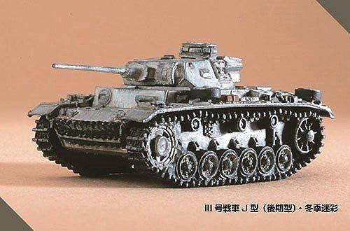 1 144 Welt Tank Museum Series 07 (Schlacht von Kursk) -118 III Panzer Typ J Medium Tank (Late-Typ) Wintertarnung einzelnes Element