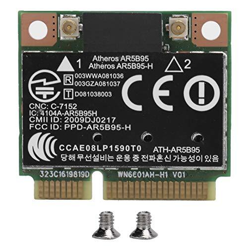 Tarjeta de Red inalámbrica AR5B95, Adaptador WiFi Semi-Mini PCI-E 802.11b / g/n 150Mbps Adecuado para portátiles Lenovo/IBM.