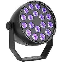 ZOUJUN El Disco Enciende Las Luces estroboscópicas LED Modos de DJ de luz de Colores Luces de la Etapa Luces estroboscópicas for Navidad casera Karaoke Bar Mostrar Cubierta (1 Pack)