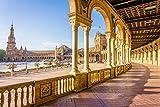 Rompecabezas para adultos, Sevilla, Rompecabezas para adultos Juego intelectual Aprendizaje Educación Juguetes-2000 piezas (105x75cm)