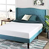 Zinus Memory Foam 6 Inch Green Tea Mattress, Queen, White