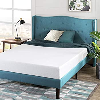 Zinus 6 Inch Green Tea Memory Foam Mattress / CertiPUR-US Certified / Bed-in-a-Box / Pressure Relieving Full