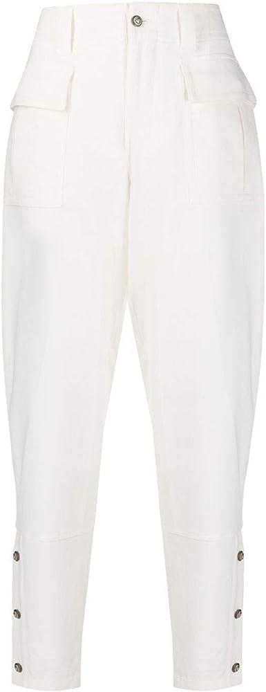 Dolce & gabbana luxury fashion,pantaloni per donna,98% cotone, 2% elastan,taglia: 40  eu FTBRRTFCFAEW0800