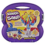 Kinetic Sand, Sandwhirlz Playset with 3 Colors of Kinetic Sand (2lbs) and Over 10 Tools, for Kids Aged 3 and up