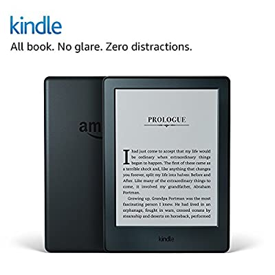 """Kindle E-reader (Previous Generation - 8th) - Black, 6"""" Display, Wi-Fi, Built-In Audible - Includes Special Offers by Amazon"""