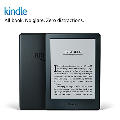 """Kindle E-reader (Previous Generation - 8th) - Black, 6"""" Display, Wi-Fi, Built-In Audible - Includes Special Offers"""