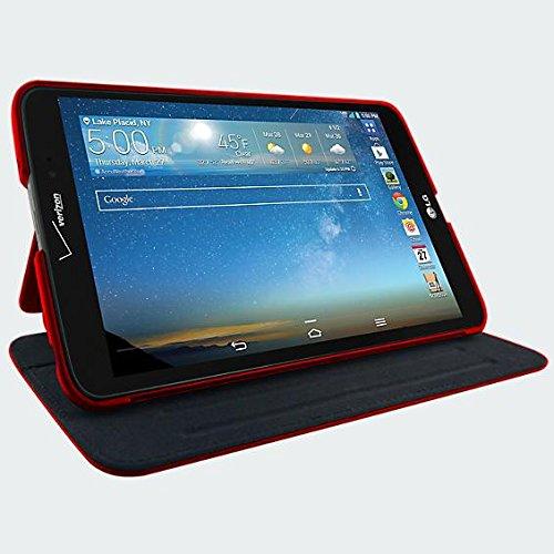 Verizon Folio Case LG G Pad LTE (Red)