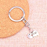 N/ A Charme Porte-clés Porte-clés chaîne Accessoires Bijoux Faisant Cadeau