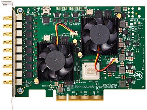Blackmagic Design 563980Z-12 DeckLink Quad 2 8-Kanal 3G-SDI Capture and Playback Card, 720p/1080p Kreuzkonvertierung