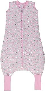 Schlummersack, Slumbersac Saco de dormir de verano con pies 1.0Tog-simplemente rosa elefantes-varios tamaños gris Talla:18-24 meses
