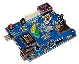 ESP-IR+TPH Monitor (完成品) - ESP-WROOM-02搭載 WiFi/赤外線/温度/湿度/気圧 プログラマブルホームIoT基板