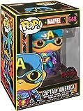 Funko- Pop Marvel Black Light Captain America Juguete Coleccionable, Multicolor (48845)...