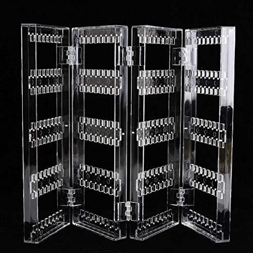 Preisvergleich Produktbild LY88 Schmuck Baumständer Große,  klare Acryl Ohrringe Ohrstecker Halskette Display Rack Multifunktionale Klappbildschirm Schmuck Display Stand
