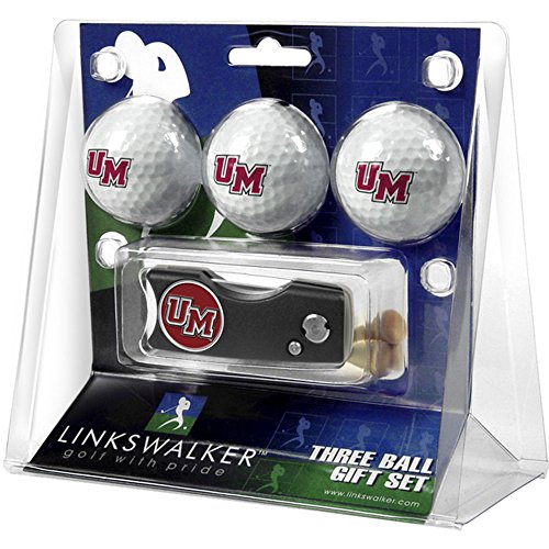 Lowest Prices! Massachusetts Amherst Minutemen UMass NCAA Spring Action 3 Golf Ball Gift Packs