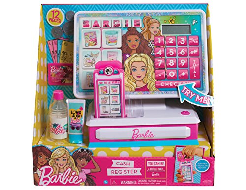 Barbie Just Play Large Cash Register Roleplay