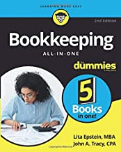 Bookkeeping All-in-One For Dummies (For Dummies (Business & Personal Finance))