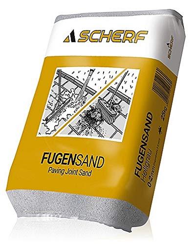 Fugensand 1-3 mm hell (beige/grau) 25 kg (kein Rundkorn)