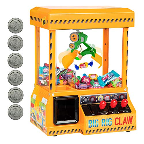 Bundaloo Big Rig Claw Machine Arcade Game - Miniature Candy Grabber for...