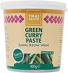 Thai Taste Green Curry Paste, 400g