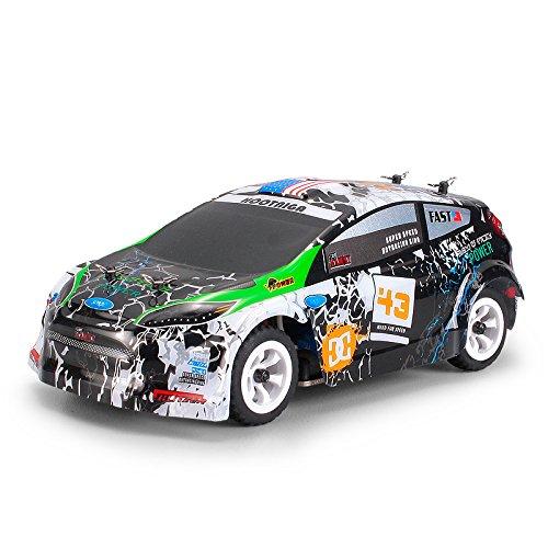 BeesClover WL-giocattoli K989 1:28 RC auto 2.4G 4WD spazzolato motore 30KM/H ad alta velocità RTR RC Drift Car Rally Vita conveniente
