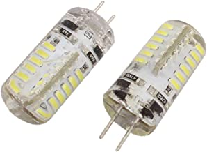 X-DREE 2Pcs DC 12V 3W G4 3014SMD LED Corn Light Bulb 48-LED Silicone Lamp Neutral White (6e055ab6-a222-11e9-8d7c-4cedfbbbd...