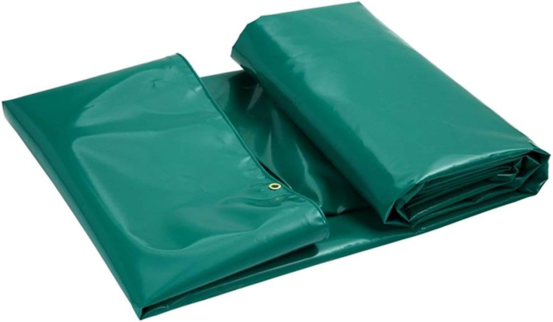 Plane Verdicken Sie wasserdichte Sonnencreme Frostschutzmittel Windproof Messer Schaben Linoleum Tuch Mehrere Gren Knnen Angepasst Werden GMING (Farbe   Grün, gre   6x4m)