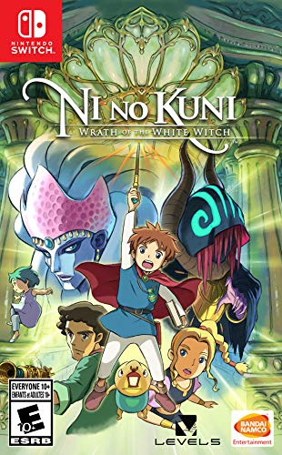 Our #4 Pick is the Ni no Kuni: Wrath of the White Witch