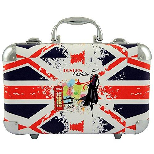 Gloss - Mallette de maquillage XXXL incluant 4 vernis - Design UK Flag