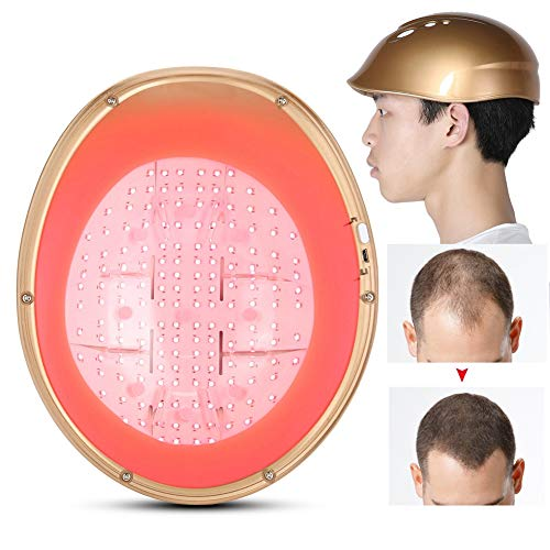Pangding 2021 New Hair Regrowth Helmet, LLLT 160 Diodes Anti-reduce Hair Loss Cleared Thinning Alopecia Cap Hat Helmet System Growth Instrument Hair Care Device