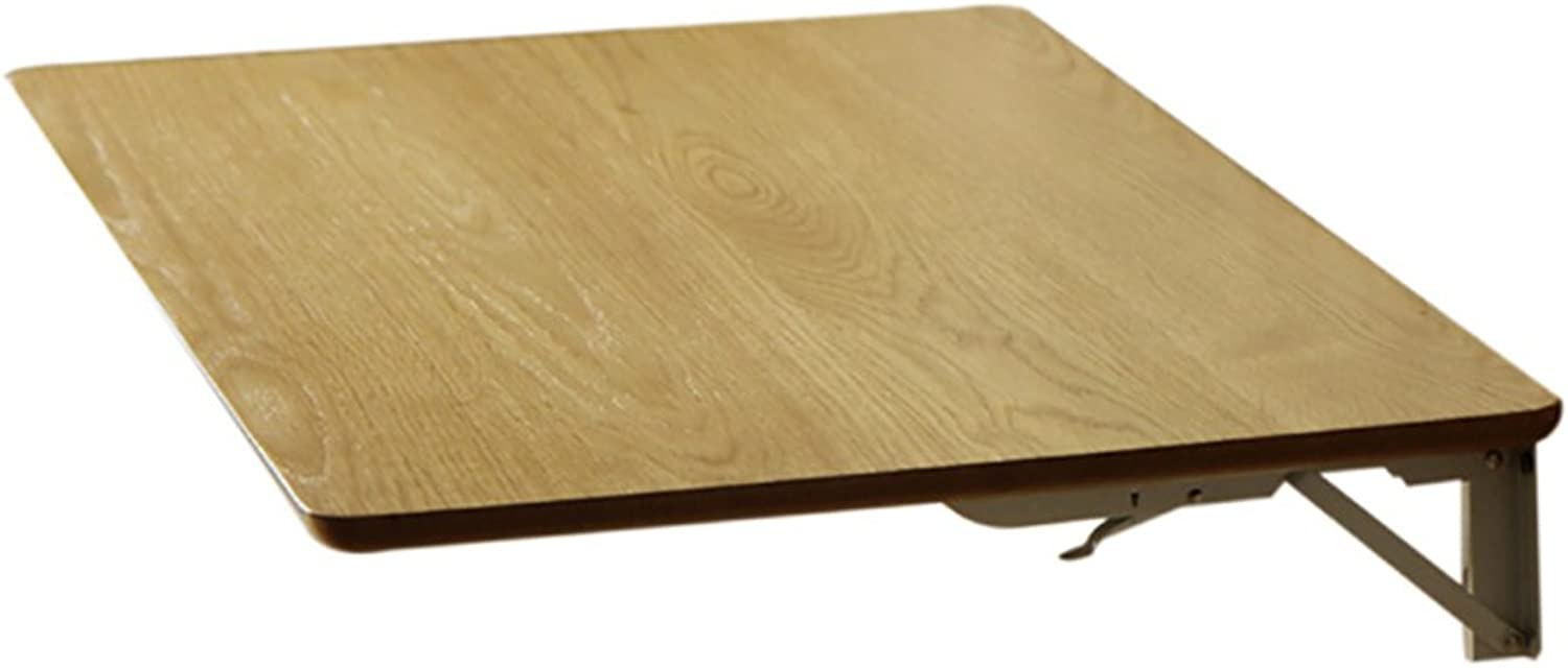 Dining Table Wall-Hung Table Drop-Leaf Table Folding Computer Desk (Size   50  40cm)