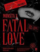 MONSTA X [FATAL LOVE] 3rd Album. [ VER.3 ] VER. 1ea CD+120p Photo Book+1ea Sticker+1ea Photo Card+TRACKING CODE K-POP SEALED